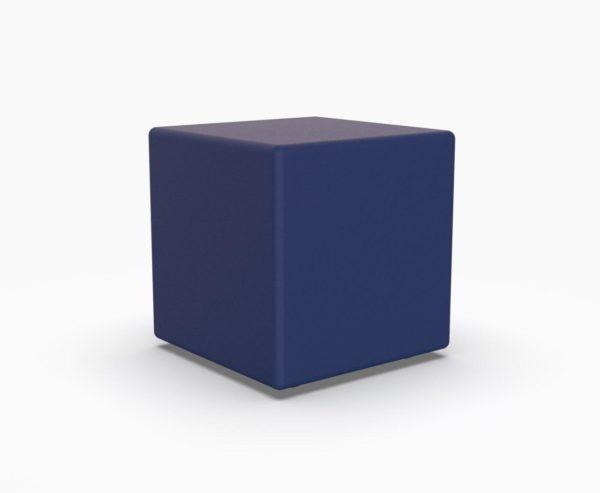 Лед мебель куб синего цвета