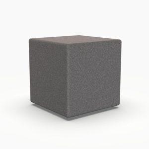 Лед мебель куб серого цвета