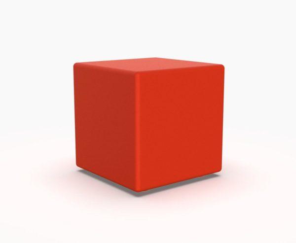 Лед мебель куб красного цвета