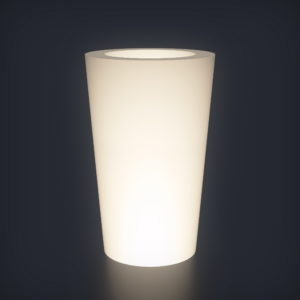 Светящееся кашпо Cone M