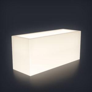 Светящееся кашпо Horizont M
