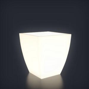 Светящееся кашпо Linea S