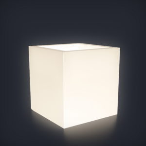 Светящееся кашпо Cubo