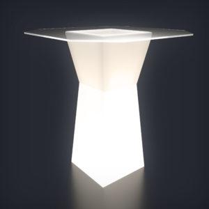 Световой коктейльный стол Prismo