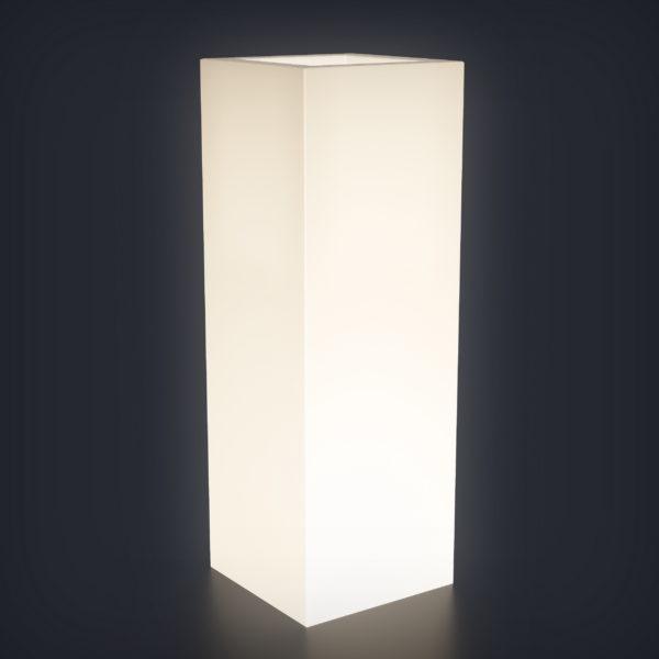 Светящееся кашпо Vertical L