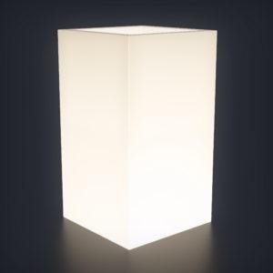 Светящееся кашпо Vertical M