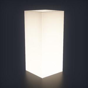 Светящееся кашпо Vertical S