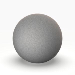 Шар Minge 300 мм серый