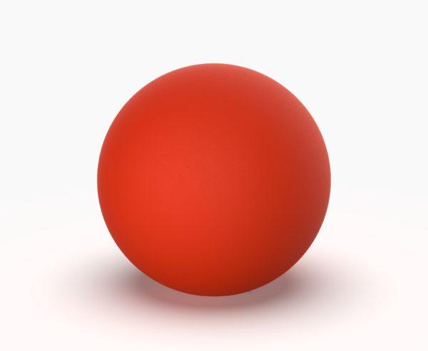 Шар Minge 200 мм красный