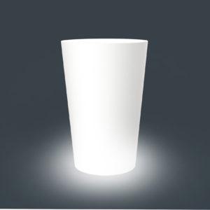Кашпо CONE 520 круглое светящееся