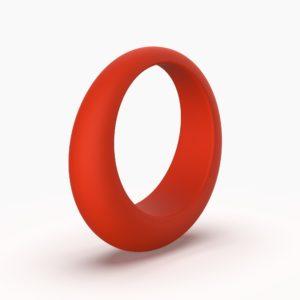 Светло-серые качели Ring