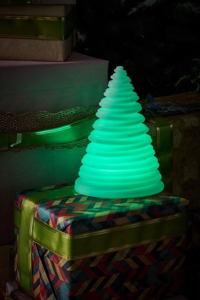 Светильник елочка зеленая