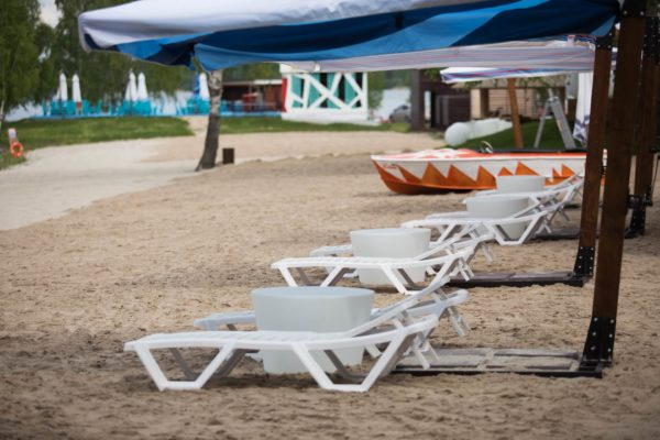 Световые столы mini на набережной