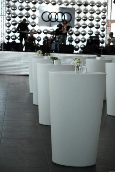 Световые столы белые