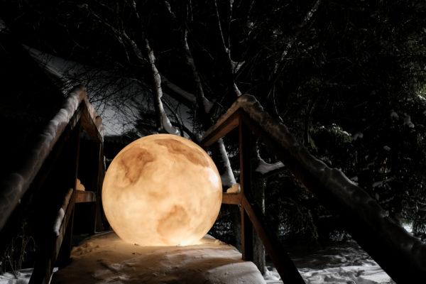 Светящийся шар-луна