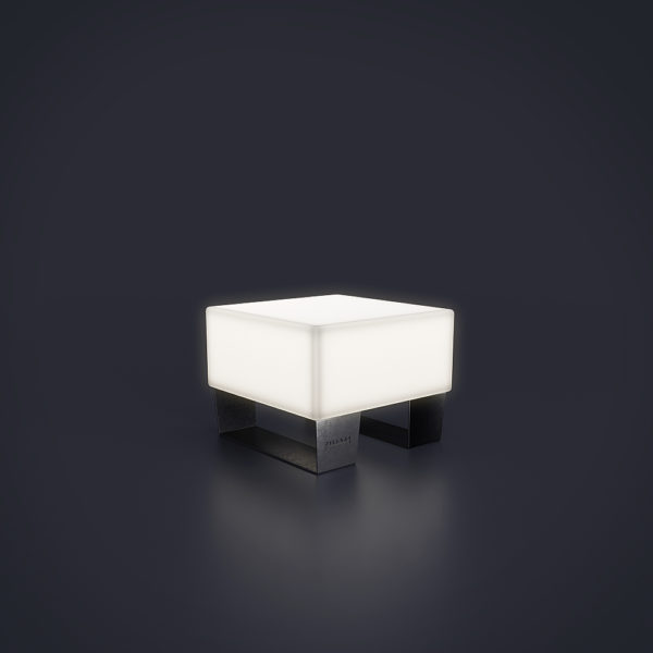 Одинарная светящаяся скамейка