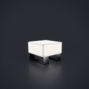 Скамейка световая пластик