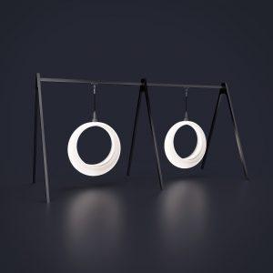 Световые качели Ring на 1-й цепи с 2 конструкциями