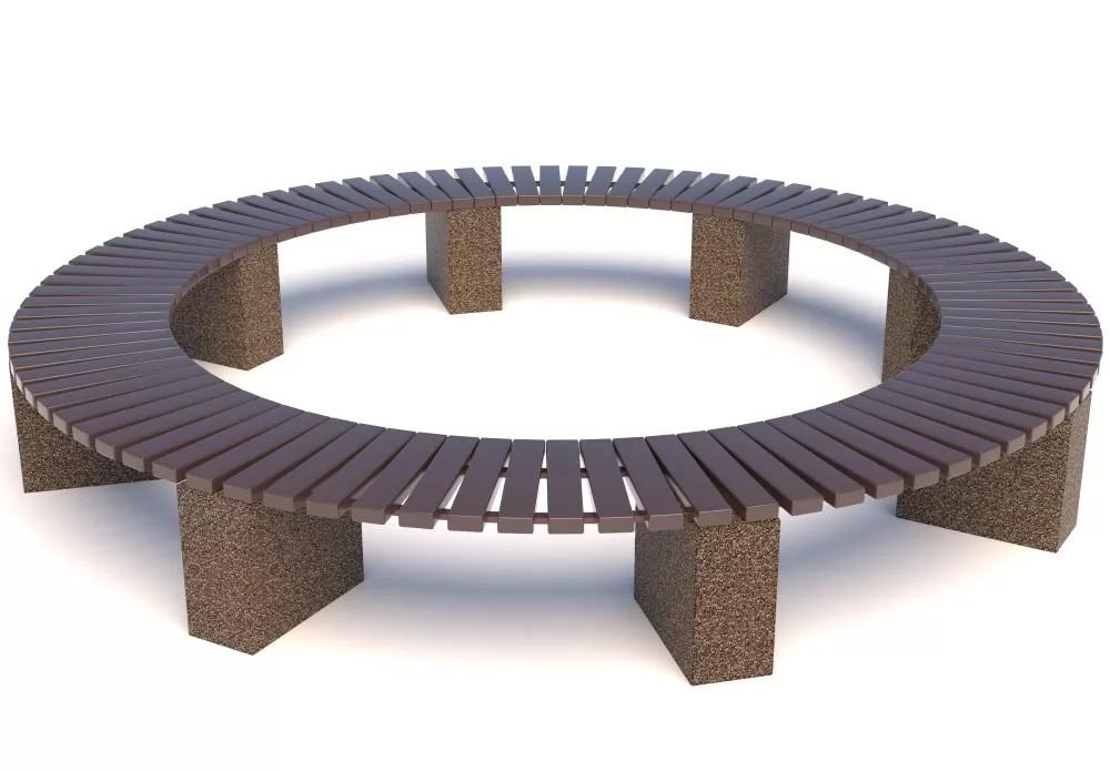 скамейка круг
