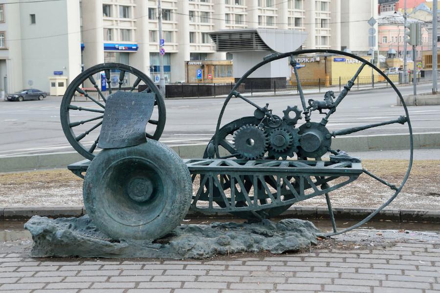 Скамейка на Сретенском бульваре
